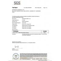 Shenzhen Tenchy Silicone&Rubber Co.,Ltd Certifications