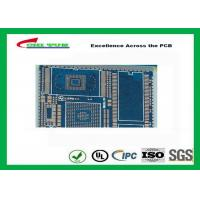 Buy PCB Fabrication And Assembly Printed Circuit Board Assemblies 6 Layer Blue at wholesale prices