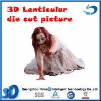 Quality die cut13D lenticular picture(stock) for sale