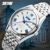 China Classical Business Metal Strap Watch 3 Atm Waterproof Quartz Movt For Mens on sale