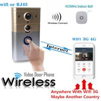 Quality HD 720p WiFi Wireless Video Visual Doorbell Night Vision Motion Detection And Theft Alarm for sale