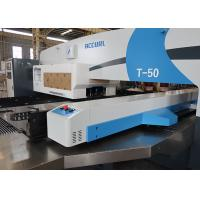 Quality 50 ton CNC Turret Punching Machine With Stainless Steel Table for sale