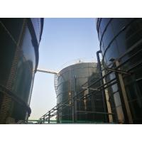 China Food Industry 6.0 Mohs Silo Glass Lined Steel Tanks on sale