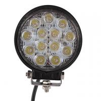 Quality 2 PCS 39W 2500lm Round Flood Epistar Work Light  Fog Driving Lamp Truck Tractor SUV 9 LED for sale