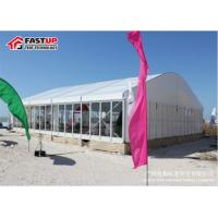 Wind Resistant Industrial Storage Tent , Outdoor Temporary Warehouse Tent for sale