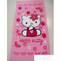 Quality Cartoon Design Custom Printed Beach Towels Quick Dry For Bath / Pool 70*140 Cm for sale