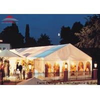 Buy cheap White Aluminum Frame Big Structure Retail Tent for Weekend Fairs from wholesalers