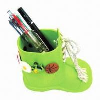 Quality Pen Holder, Made of Silicone, Durable, Sample, Small and OEM Orders are Welcome for sale