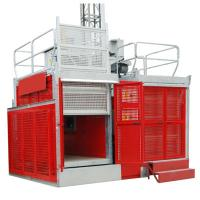 Quality Rack & Pinion Industrial Lift / Elevators with SAJ50-2.0 Safety Device in China for sale