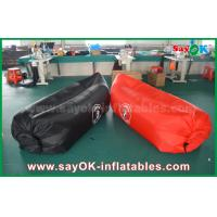 Quality Indoor / Outdoor Hangout Inflatable Beach Air Sleeping Bag Sofa Commercial Grade for sale