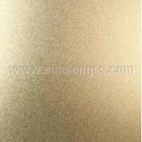 Quality Bead Blasted Gold Stainless Steel Sheet for sale