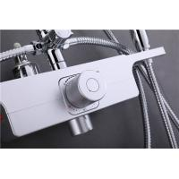 Quality Concealed Thermostatic Mixing Valve Maximum Flow 26L/Min Multi Layer Nickel Plating for sale