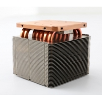 Quality High Dissipate Efficiency Anti Anodized Copper Pipe Heat Sink for sale
