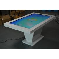 China 65 Inch IR Floor Standing Touch Screen kiosk Shopping Guide Dust Waterproof on sale