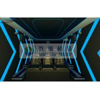 Quality Small 7D movie Theaters With Many Special Effects For 6 Persons for sale