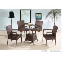 Quality 2014 China popular pe rattan table chair furniture sets for sale