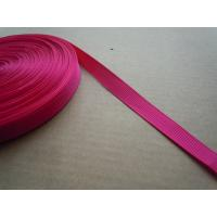 Quality Polyester nylon Custom Color Shiny Elastic Binding Tape , Elastic bra straps for sale