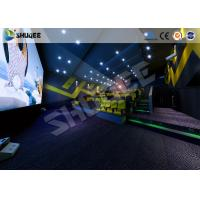Quality International Impressive 4D Cinema Movies Theater Experience With Different Scenes for sale