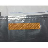 Quality Special Glue Tamper Evident Labels / Security Seal Labels For Zip Lock Bag for sale