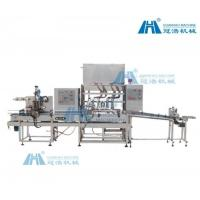 Quality Adhesive Auto Bottle Filling Machine High Filling Precision For Low Viscosity Liquid for sale
