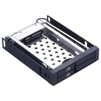 Buy cheap Unestech 2*2.5in Aluminum casing dual bay caddy tray hot swap 2.5 SATA HDD/SSD LED indicator HDD case from wholesalers