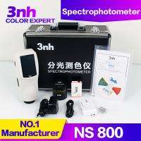 Quality NS800 Portable Color Spectrophotometer , Colour Matching Device 400~700nm Wavelength for sale
