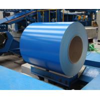 Buy cheap PPGL- Prepainted Galvalume Steel Coil 0.13 x 914 mm RAL color Bule from wholesalers