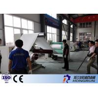 Quality Professional PS Foam Sheet Extrusion Line , PS Foam Machine 100-180kg/H for sale