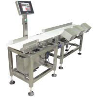 Quality Production line weight weighing scale,automatic sort weight into different zones for sale