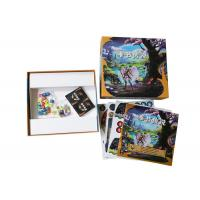 China Educational Toys Paper Board Games with Pawns Dices Gloss Varnish Spot UV Coating on sale
