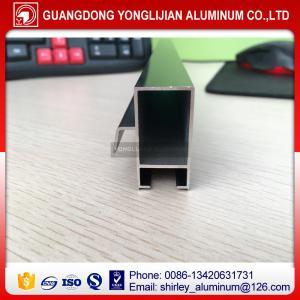 China Anodized bronzed aluminum sliding window extrusion profile factory price on sale