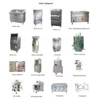 Quality Marine galley equipment and laundry device,marine cooker,frying pan,electric range,oup boiler,steam rick cooker for sale