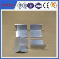 Quality Aluminium price per kg aluminum angle profile in china for sale