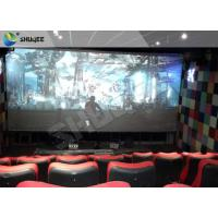 Quality 4D Ride Simulator Electronic System 4D Movie Theater With All Special Effects for sale