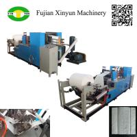 Quality High speed automatic C fold hand towel paper folding machine factory for sale