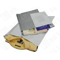 Quality Personalized Poly Mailer Gray Poly Shipping Bags With Hot Melt Strong Glue for sale