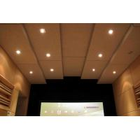 China Soundproofing Materials Cheap Polyester Fiber Wooden Acoustic Panel Price on sale