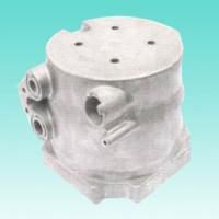 Quality OEM ADC12 Threading Aluminum Bracket High Pressure Automotive Die Casting Components for sale