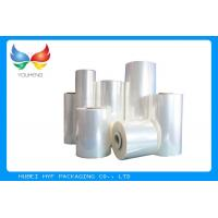 Quality Beverage Bottle PETG Shrink Sleeve Film 78% Shrinkage Recyclable , 30-80mic Thickness for sale