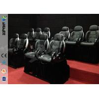 Quality Mini 7D Movie Theater, 6 / 9 / 12 / 18 / 24 Persons XD Motion Cinema With Flat Screen for sale
