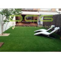 Quality No Mowing Outdoor Turf Carpet Low Maintenance With Low Friction Non Infill for sale