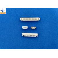 Quality Single Row Circuit Board Connection, White PCB Wire Connector GH connector  PA66 Materials for sale
