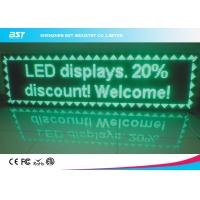 Quality Front Service Green LED Moving Message Display P10 Outdoor Full Color Led Display for sale