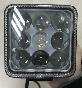 Quality 4D Reflector 27w Led Car Logo 1800 Lumens 12 Volt Led Work Lights For Trucks for sale