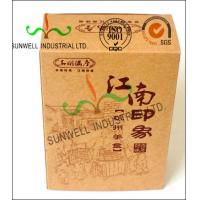 Quality Custom Printed Corrugated Food Packaging Boxes Eco Friendly Kraft Paper for sale