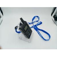 Quality E8 Ear Hanging Wireless Audio Guide System , Black Simultaneous Translation Device for sale