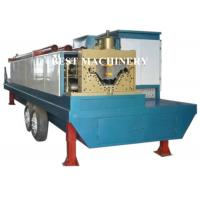 Buy Trailer Mounted ABM K Span Roll Forming Machine Curving Roof 8m/min - 12m/min at wholesale prices