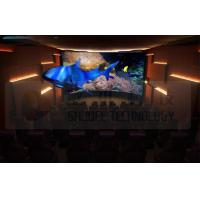 Quality Flat Screen 5D Movie Theater with 7.1 Audio System Install In Exhibition Hall for sale