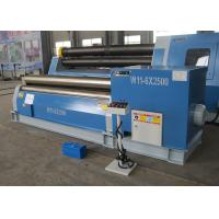 Quality Universal Sheet Metal Power Roller Bending Machines , CNC Plate Rolling Machine for sale