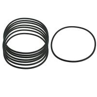 Quality High Performance Silicone Gasket Ring Hot Pressing Molding , Temperature -50℃-200℃ for sale